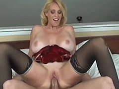 Lingerie, Birthday, Sucking, Milf, Big tits, Boobs, Tits, Not son, Huge, Mommy, Blonde, Blowjob, Oral, Stockings, Fucking, Cougar, Sexy