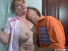 Grandmother, Cougar, Mature, Huge, Young, Fucking, Natural tits, Granny, Big tits, Old and young, Russian, Boobs, Wife, Titty fuck, Mom and boy, Old, Mommy, Cock, Tits, Blowjob, Sucking