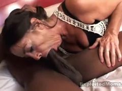 Grandmother, Cougar, Old, Mommy, Granny, Mature, Babysitter, Interracial