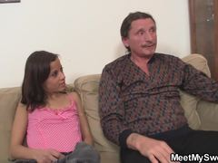 Old and young, Teen, Young, Fucking, Mommy, Riding, Old, Cock, Blowjob