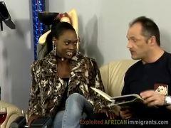 Group, Exploited, Interracial, European, African, Ebony, Black, Hardcore, French