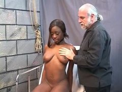 Stretching, Bdsm, Pussy stretching, Black, Interracial, Black teen, Pussy, Teen, Brunette, Ebony, Tits, Speculum, Young
