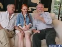 Redhead, Group, Exploited, Pornstar, Teen, Small tits, Young, Old, 3 some, High definition, Tits, Dad and girl, Old man