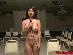 Sexy angels get humiliated at the public places