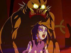 Creampie, Goth, Cartoon, Hentai, Extreme, Anime, High definition, Double, Double penetration, Parody