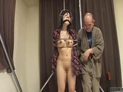 Old and young, Fetish, Bizarre, Bound, Young, Spanking, Bondage, Bdsm, Old, Asian, Japanese