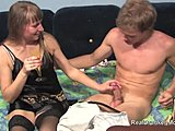 Milf, Mommy, Sucking, Skinny, Mature, Old, Blonde, Blowjob, Oral, Stockings, Fucking, Young, Drunk, Cougar, Russian