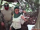 Reality, Teen, Arab, Military, Old, Outdoor, Army, Uniform, Blowjob, Strapon