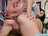 Hairless, Old and young, Grandfather, Old, Schoolgirl, Facial, Fucking, Dad and girl, Young, Shaved, Wanking